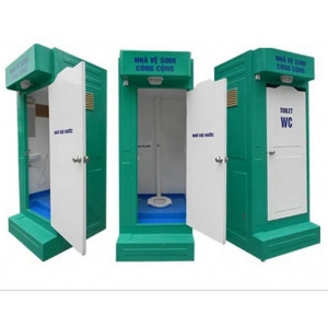 nhà vệ sinh công trường